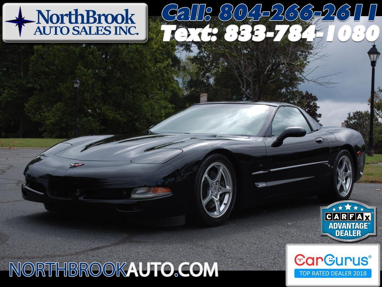 Chevrolet Corvette 2dr Cpe 2001