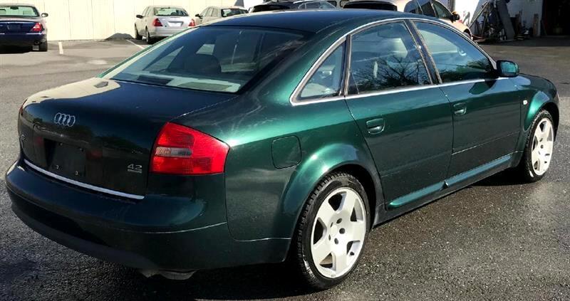 2001 Audi A6 4dr Sdn Quattro AWD Auto 4.2