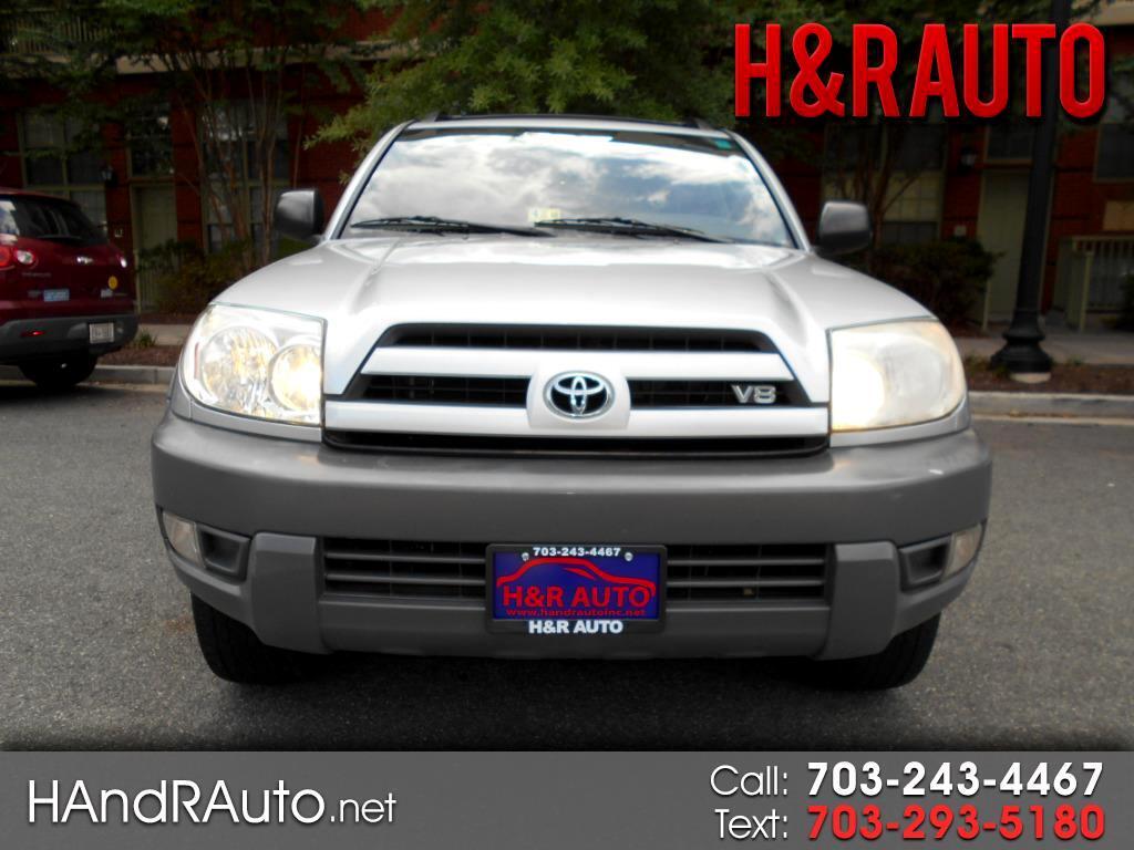 2003 Toyota 4Runner 4dr SR5 V8 Auto 4WD (Natl)