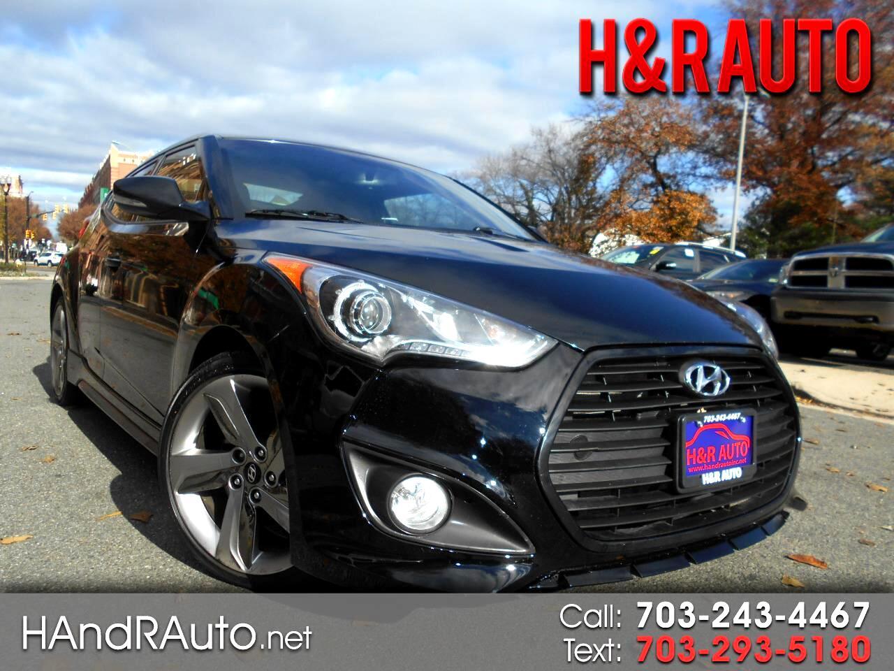 2013 Hyundai Veloster 3dr Cpe Auto Turbo w/Black Int