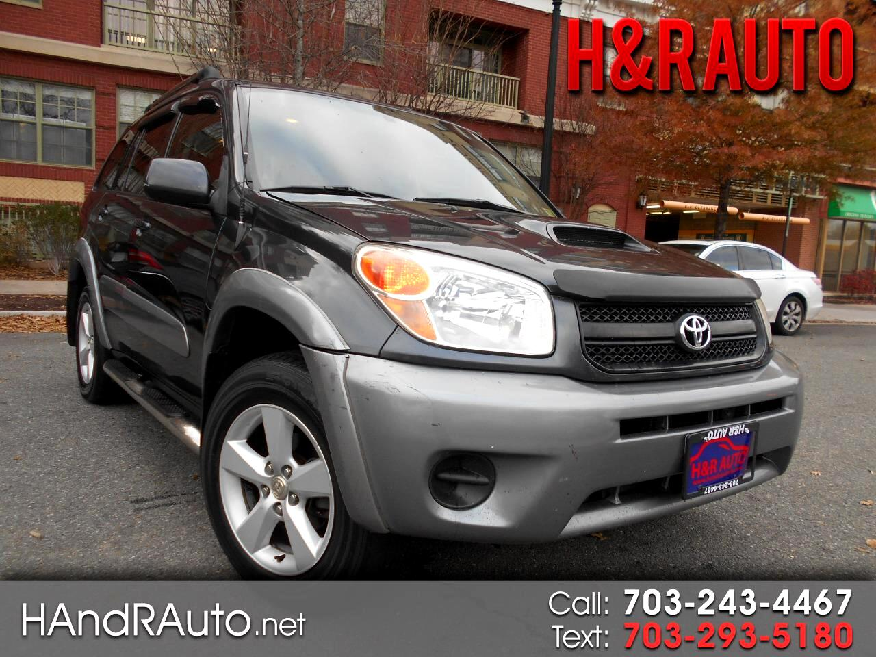 2004 Toyota RAV4 4dr Manual 4WD (Natl)