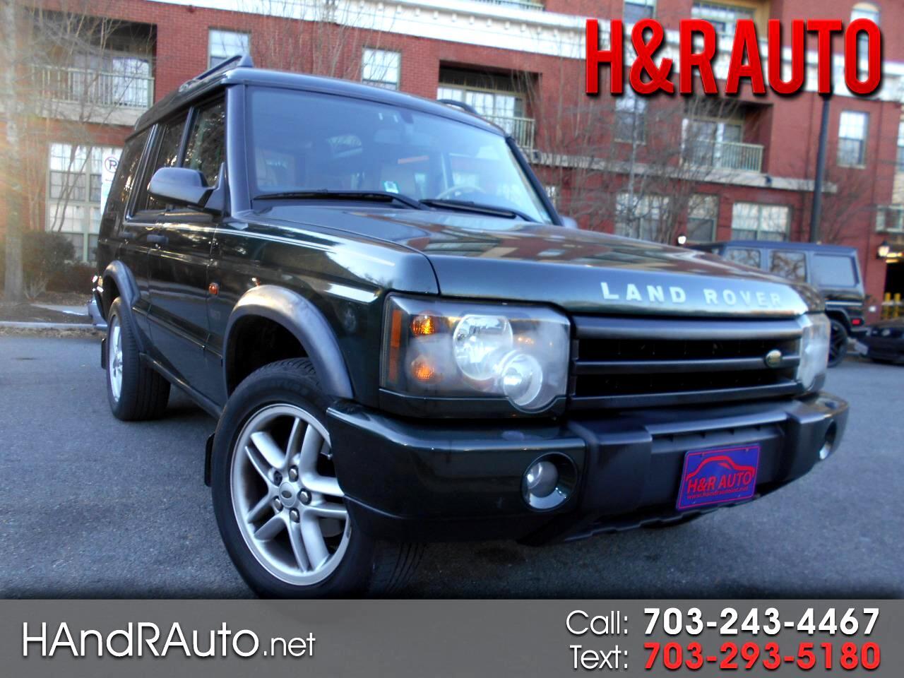 Used 2003 Land Rover Discovery in Arlington, VA | Auto com |  SALTW16463A822174