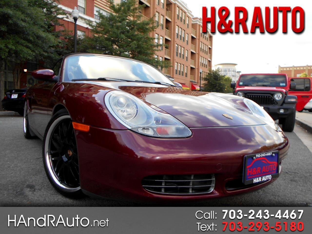2000 Porsche Boxster 2dr Roadster S Manual
