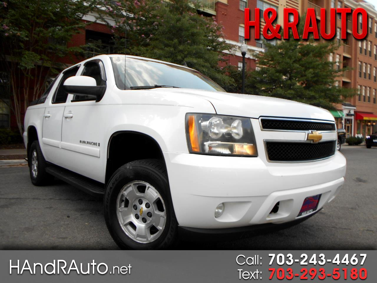 "2007 Chevrolet Avalanche 4WD Crew Cab 130"" LT w/2LT"