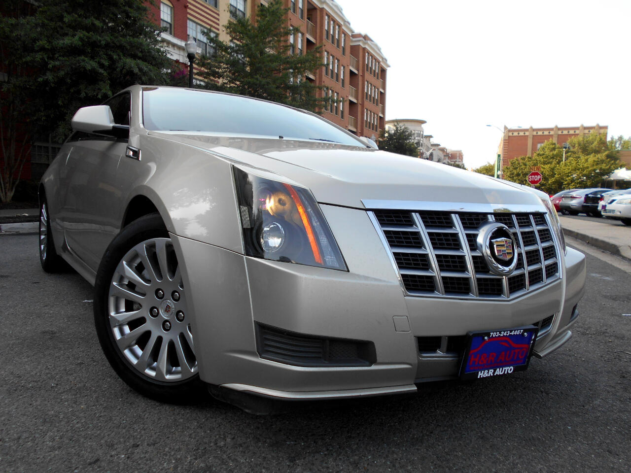 Cadillac CTS Coupe 2dr Cpe RWD 2013