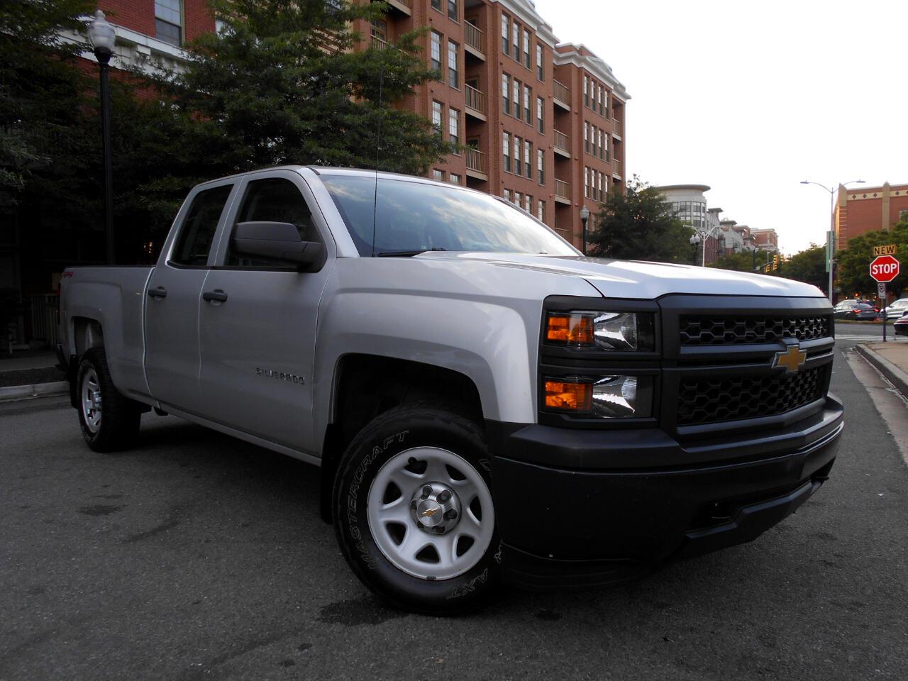 "Chevrolet Silverado 1500 4WD Double Cab 143.5"" Work Truck w/1WT 2014"