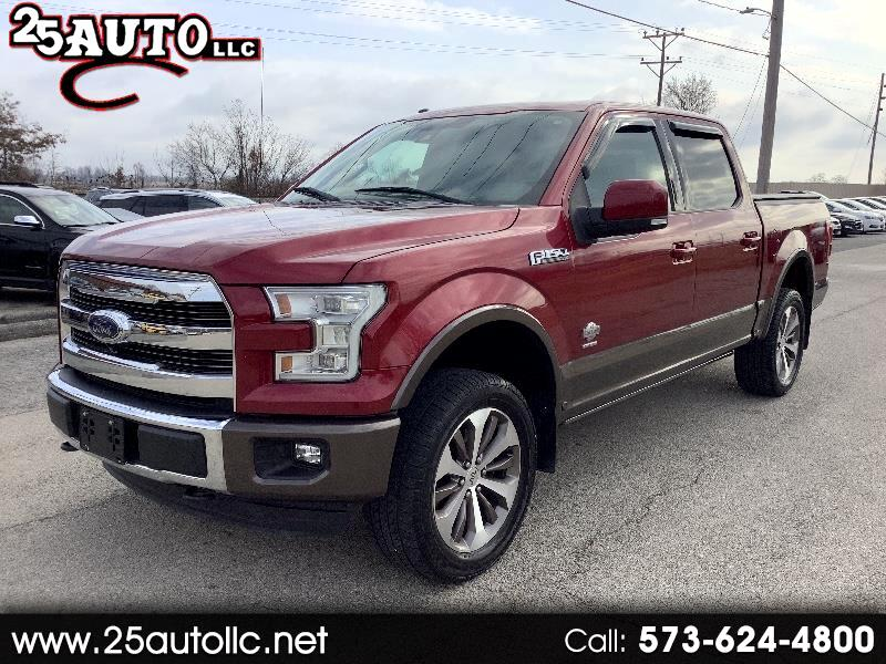 Ford F-150 King-Ranch SuperCrew 5.5-ft. Bed 4WD 2015