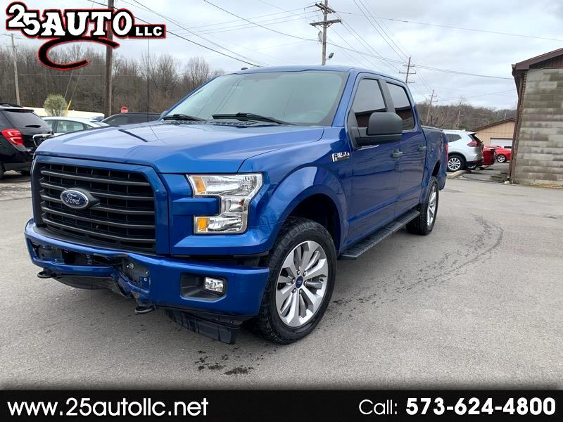 Ford F-150 XL SuperCrew 5.5-ft. Bed 4WD 2017