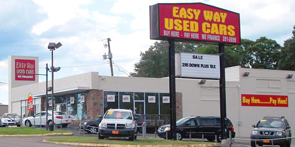 easy way used cars lot