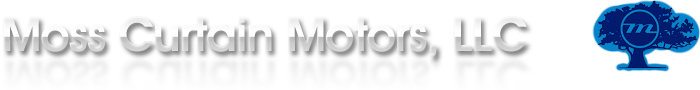 Moss Curtain Motors Logo