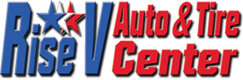 Rise V Auto and Tire Center logo