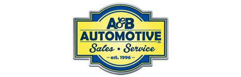 A and B Automotive Logo