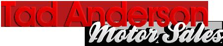 Tad Anderson Motor Sales Logo