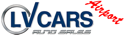 LV Cars Auto Sales - Airport Logo