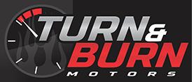 Turn & Burn Motors Logo