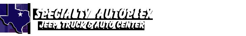 Specialty Autoplex Fun Jeeps Logo