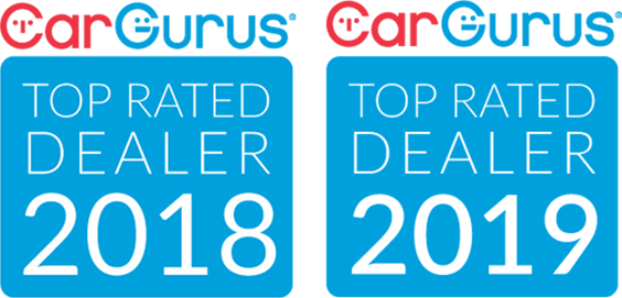 CarGurus Top Rated Dealer 2019 Badge