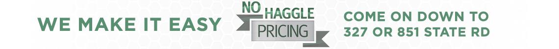 No Haggle Pricing
