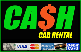 Cash Car Rental Logo