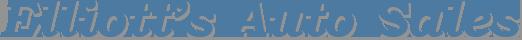 Elliott's Auto Sales Logo