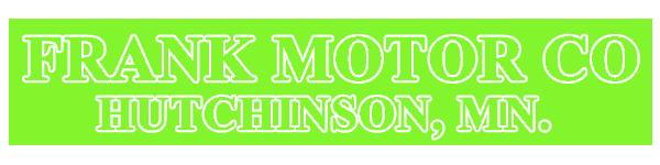 FRANK MOTOR CO. Logo