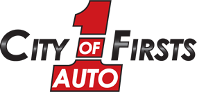 City of Firsts Auto  Logo