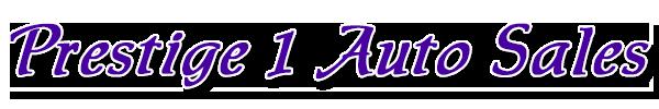 Prestige 1 Auto Sales Logo