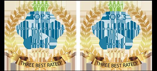 Winner Top 3 Used Car Dealers in Phoenix AZ 2020 & 2021