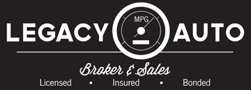 Legacy Auto Broker & Sales Logo