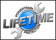 Lifetime powertrain protection