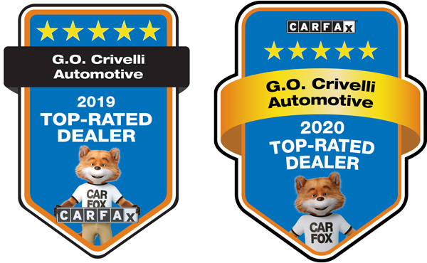 Carfax Top Rated Dealer 2019 & 2020