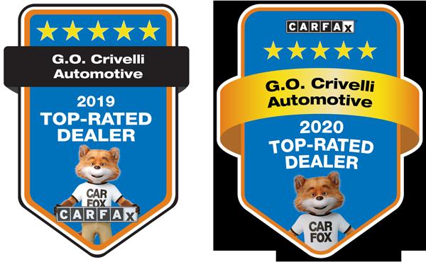 Carfax Top Rated Dealer 2019 & 2020