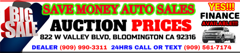 Save Money Auto Sales Logo