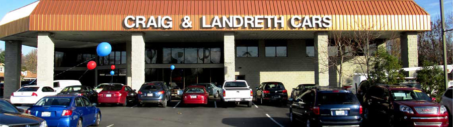 Craig And Landreth Cars >> Financing Tips
