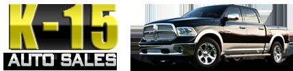 K-15 Auto Sales Logo