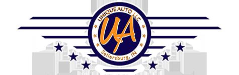 Unique Auto LLC  Logo