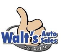 Walt's Auto Sales  Logo