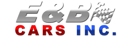 E and B Cars Inc. Logo