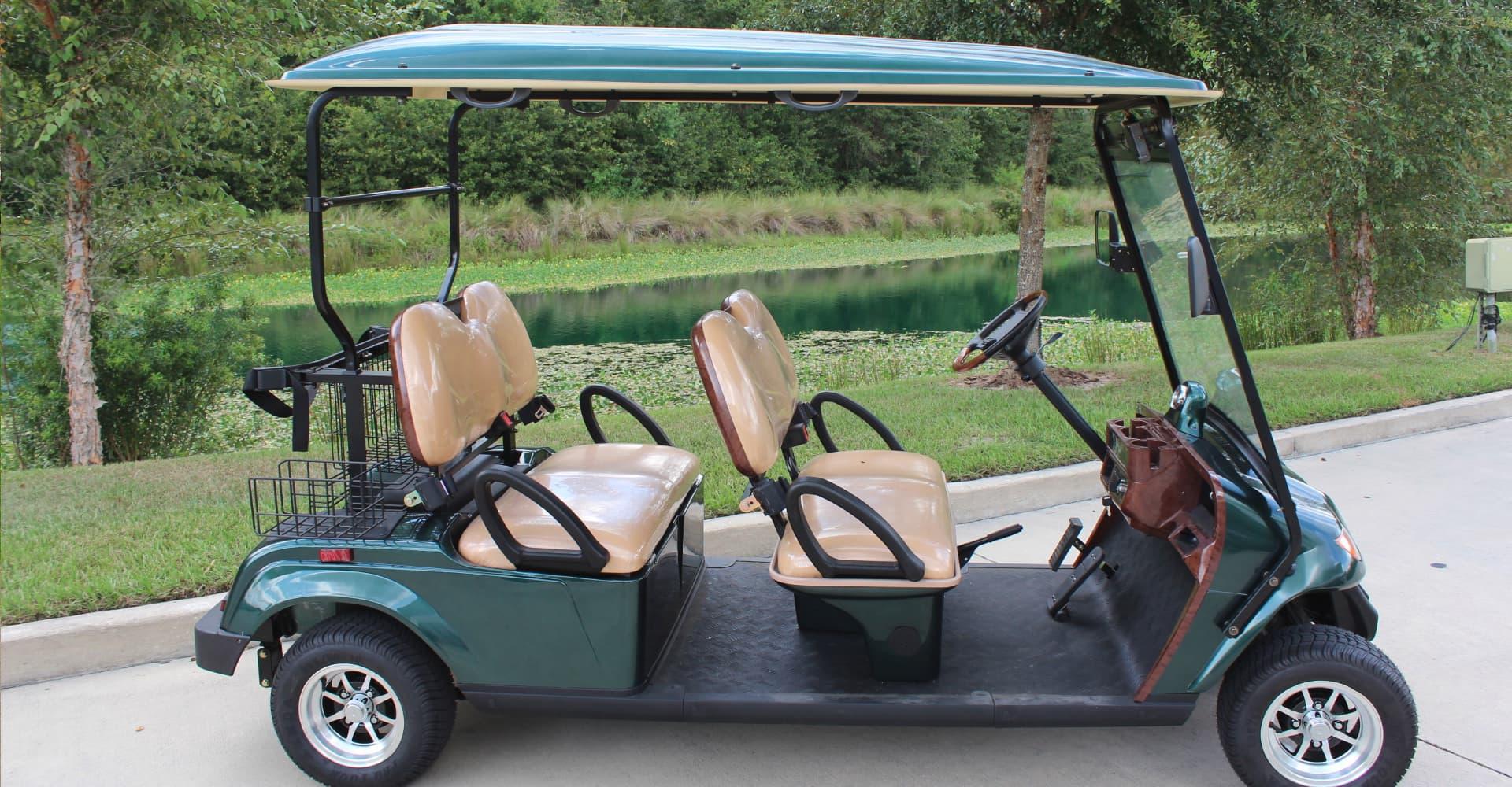 Dean Team Golf Cart
