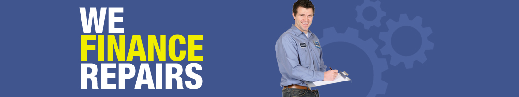 We finance repairs
