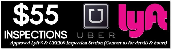 $55 Lyft inspections
