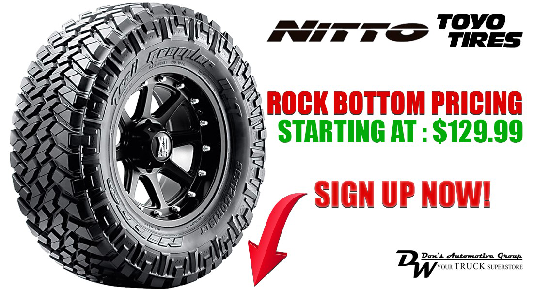 New, Used and Aftermarket Wheels and Tires at Don's Service Center