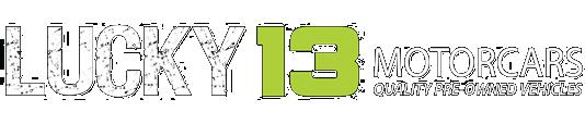 Lucky 13 Motorcars Logo