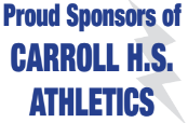 Proud sponsor of Carroll HS Athletics