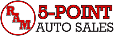 Ram 5 Point Auto Sales Logo