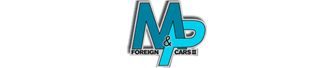 M & P Auto Logo