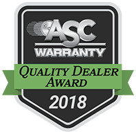 asc 2018 quality dealer award