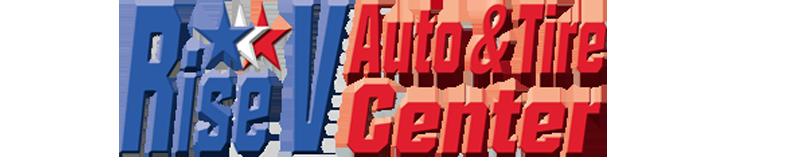 Rise V Auto & Tire Center Logo