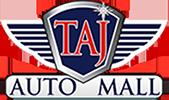 TAJ Auto Mall logo
