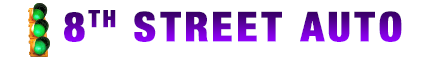 8Th Street Auto Logo